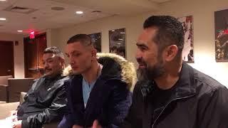 Vyacheslav Shabranskyy talks about sparring Dmitry Bivol