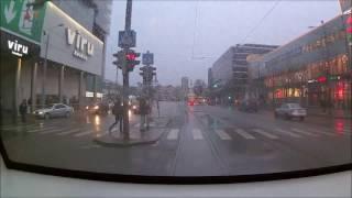 Tallinn tram ride time lapse