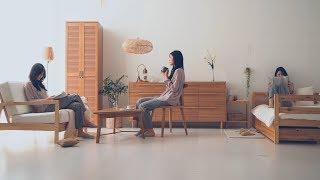 신혼집에 어울리는 원목가구 | 마켓비 HEIN 선반수납…