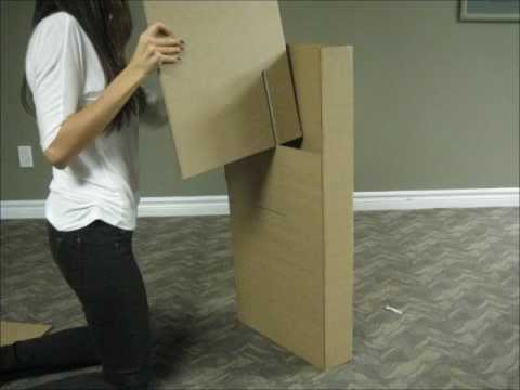 How to make a Cardboard chair YouTube