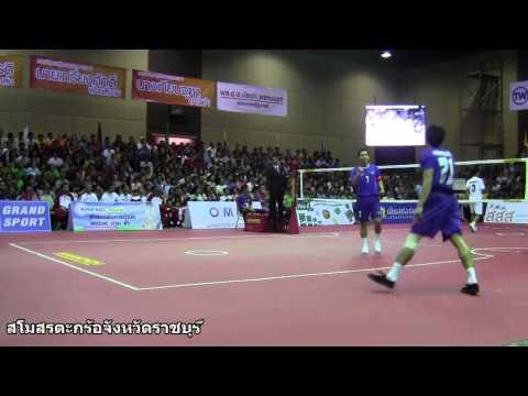 การแข่งขันตะกร้อคิงส์คัพ ครั้งที่ 28 ประเภทตะกร้อคู่ชายชิงชนะเลิศ ประเทศไทย VS อินโดเนเชีย