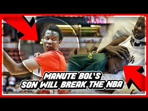 Mater Dei's BOL BOL Is UNLIKE Anything We've EVER Seen Before! Former 7ft7 NBA Star MANUTE BOL Son!