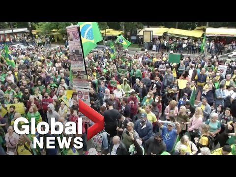 Coronavirus: Brazilians protest potentially mandatory Chinese COVID-19 vaccine
