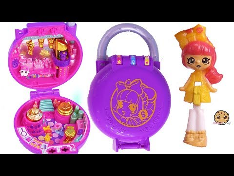 Tiny Makeup Salon Shop ! Shopkins Lil's Secrets with Mini Shoppies Doll