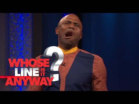 Action Hero Wayne Brady - Whose Line Is It Anyway?