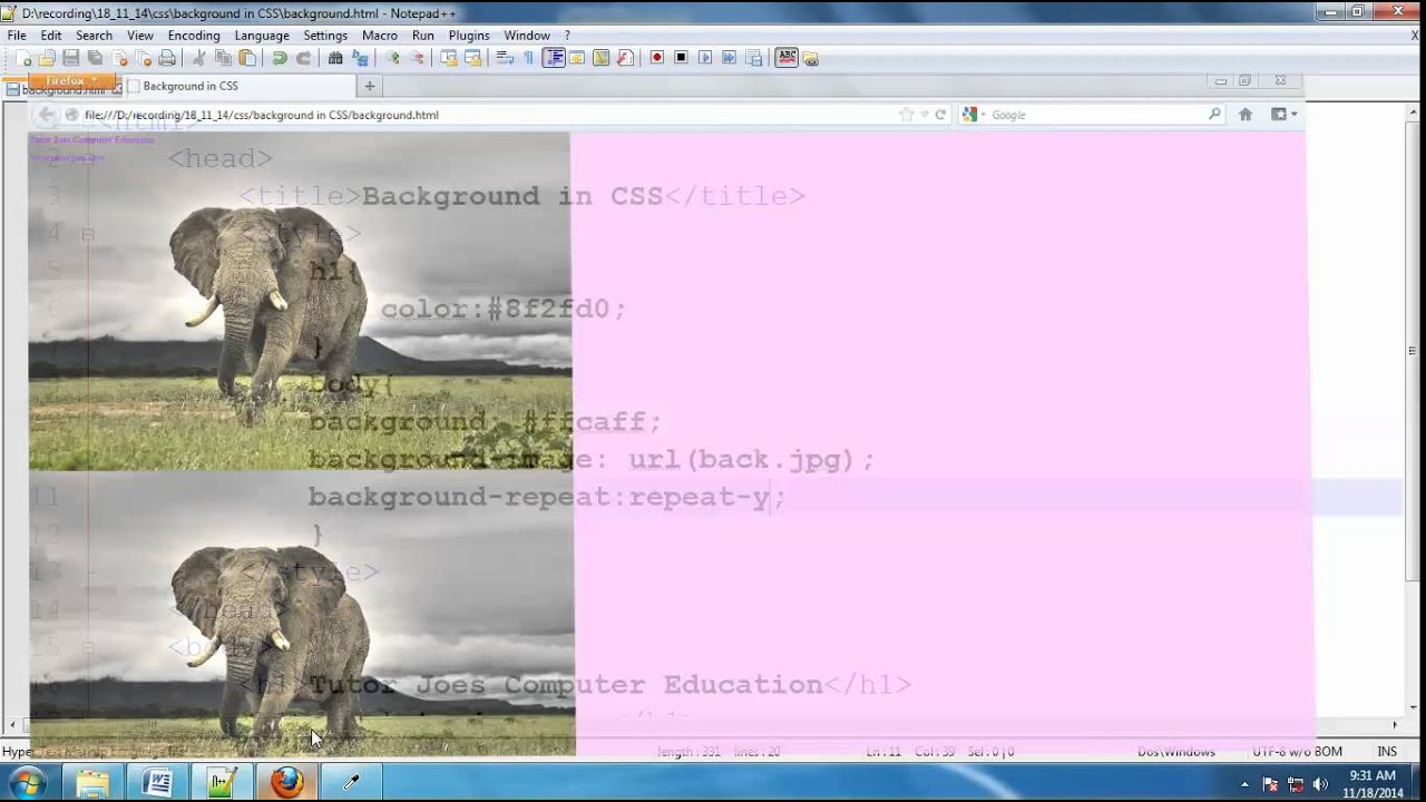Background image css properties - Background Properties In Css Tamil