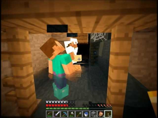 """Смотреть прохождение игры [Coop & Friends] Minecraft 1.3.1. Серия 19: """"Опять в пещеры"""""""