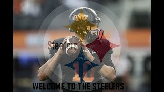 Mason Rudolph Career Highlights - Welcome To The Steelers