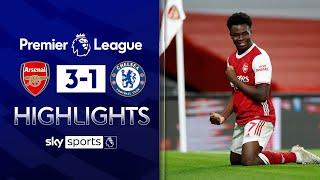 Saka stars as Gunners shock Blues in London derby! | Arsenal 3-1 Chelsea | Premier League Highlights