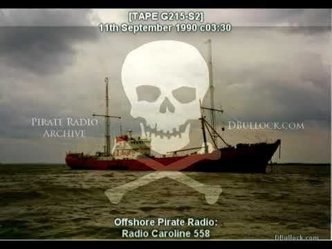 [G215-S2-EDIT] Radio Caroline 558 ~ 11/09/1990 ~ Offshore Pirate Radio