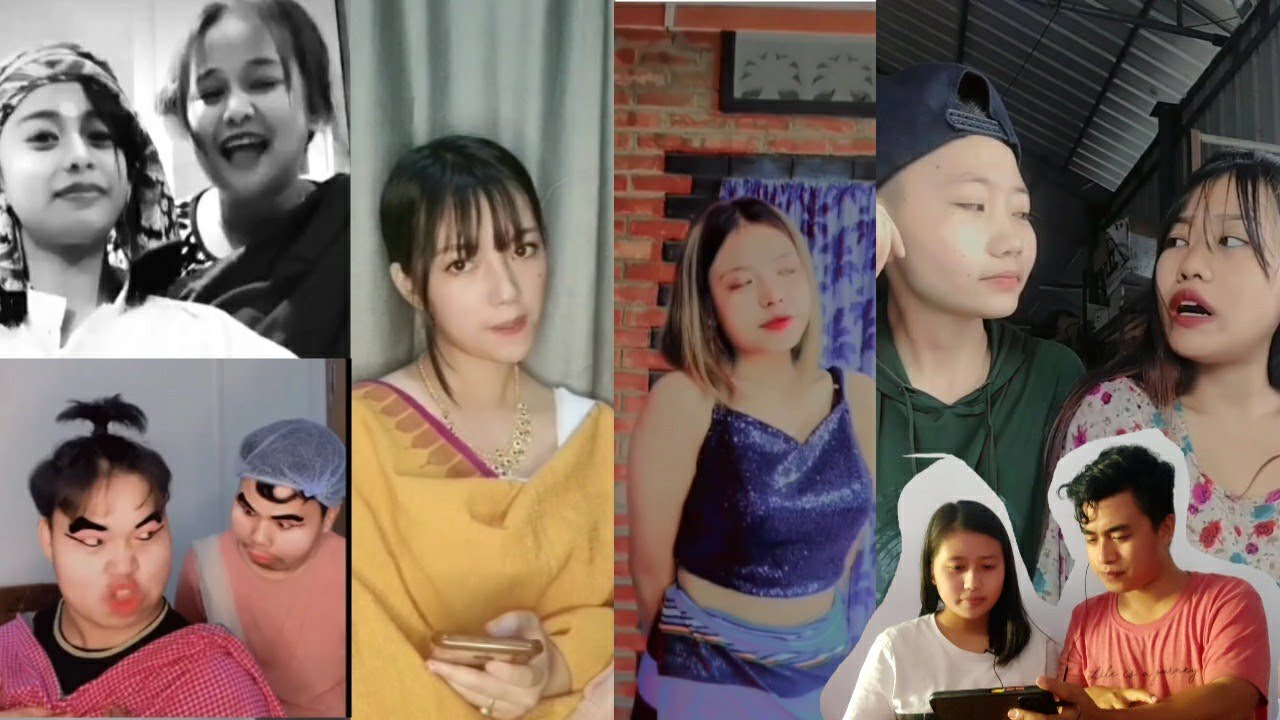 Download New Manipur viral Girl Dialogues Re_Acting(Reaction Video) part 4