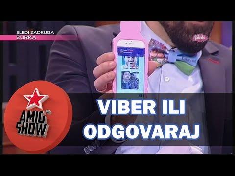 Viber ili Odgovaraj - Ami G Show S10 - E24