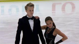 Диана Дэвис - Глеб Смолкин. Ритм-танец. Танцы. Гран-при США по фигурному катанию 201920