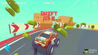 3D MONSTER TRUCK - SKYROADS GAME LEVEL 6-7