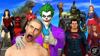 Download lagu Godzilla Vs Super Heros & Joker   Full Version   Pubg Animation