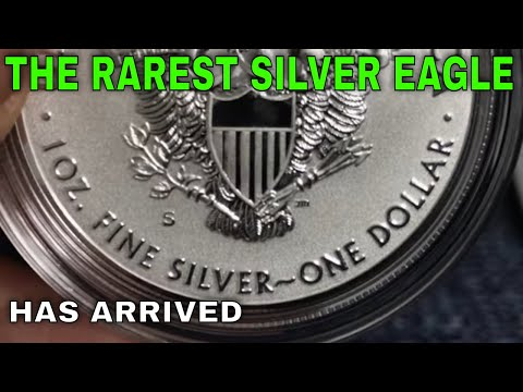 2019 S Enhanced Reverse Proof Silver Eagle UNBOXING