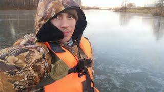 Рыбалка по первому льду 2018 в московской области Балашиха