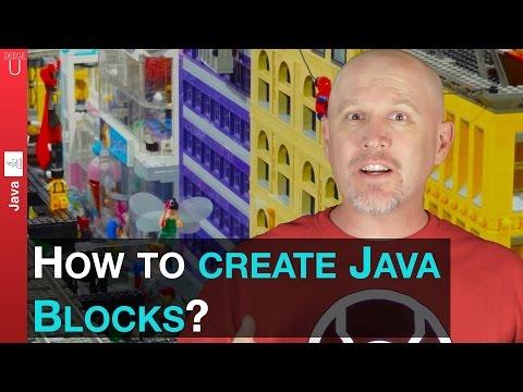 How to use Java blocks! - 016