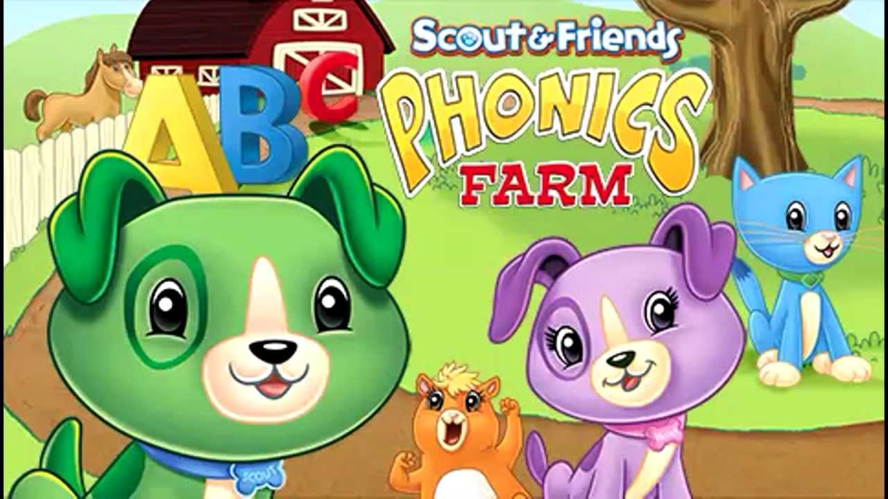 Scout Friends Phonics Farm Reading Skills Dvd For Kids Leapfrog Youtube