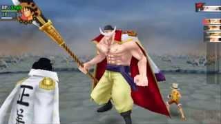 One Piece - Romance Dawn ✘ Whitebeard,Luffy vs Akainu,Aokiji,Kizaru ★Play PSP