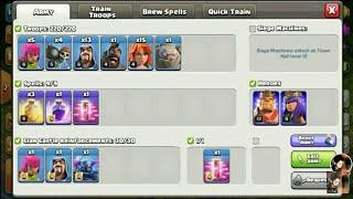 🔴Coc live stream    Live attacks/war/raids   Trophy push  Champion league