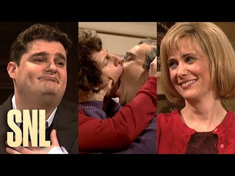 Every Kissing Family Ever (Part 1 of 2) - SNL