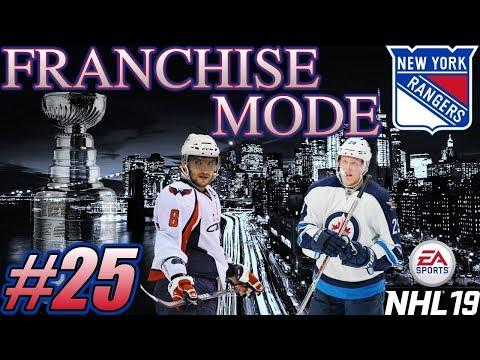 "NHL 19 Franchise Mode - New York Rangers #25 ""Reality Check"""