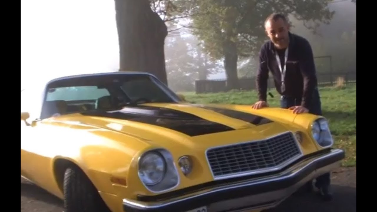 Transformers  Chervolet Camaro SS 1977 Test  YouTube