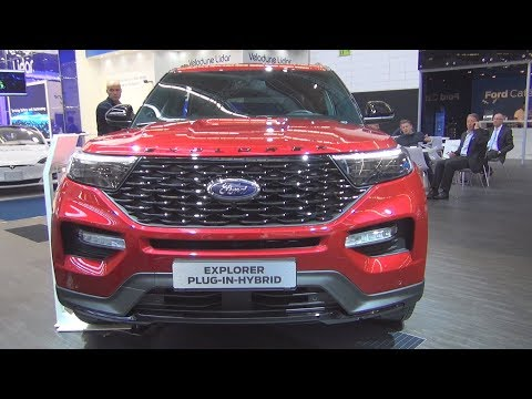 Ford Explorer 3.0 EcoBoost Plug-in Hybrid (2020) Exterior and Interior