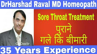 Sore throat Homeopathy medicine  and Homeopathic remedy