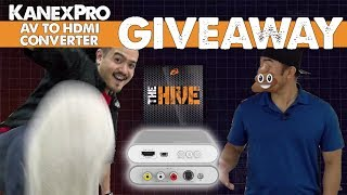 How to Convert AV to HDMI | KanexPro CON-AV-HD4K | Giveaway [closed] + Demo