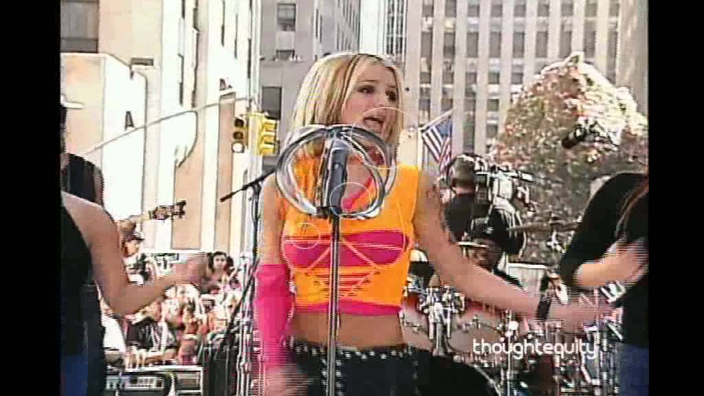 Britney Spears Mini Concert at Today Show 2000 HQ - YouTube