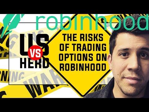 The Risks Of Trading Options On Robinhood App