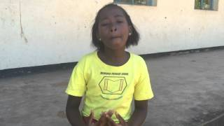 Zimbabwean girl child speaks against the practise of Child Marriage