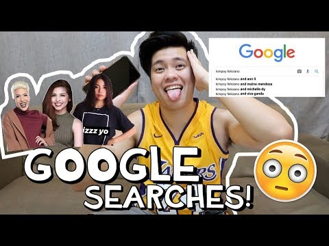 """""""ANSWERING GOOGLE SEARCHES ABOUT ME""""   Kimpoy Feliciano"""