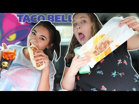 TRYING THE ENTIRE TACO BELL MENU - MUKBANG