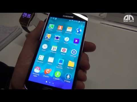 Samsung Galaxy S5 - Hands-On - MWC 2014 - androidnext.de