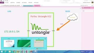 L'installation et configuration  d'un Parfeur  Untangle V12 {DARIJA}