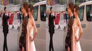 3D Video of Red Carpet at Asian Film Awards in Hong Kong