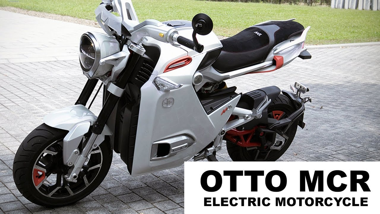 Mini Electric Motorcycle From Otto Bike Mcr Scooter