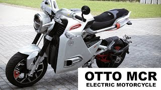 Mini electric motorcycle from OTTO BIKE  | Mini Electric motorcycle | OTTO MCR electric scooter