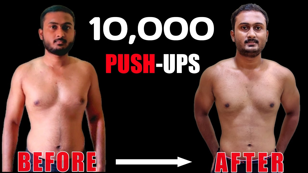 300 Pushups For 30 Day Challenge, And This Happened ! | Body Transformation