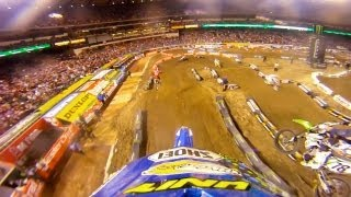 GoPro HD: Anaheim I Race Monster Energy Supercross 2011