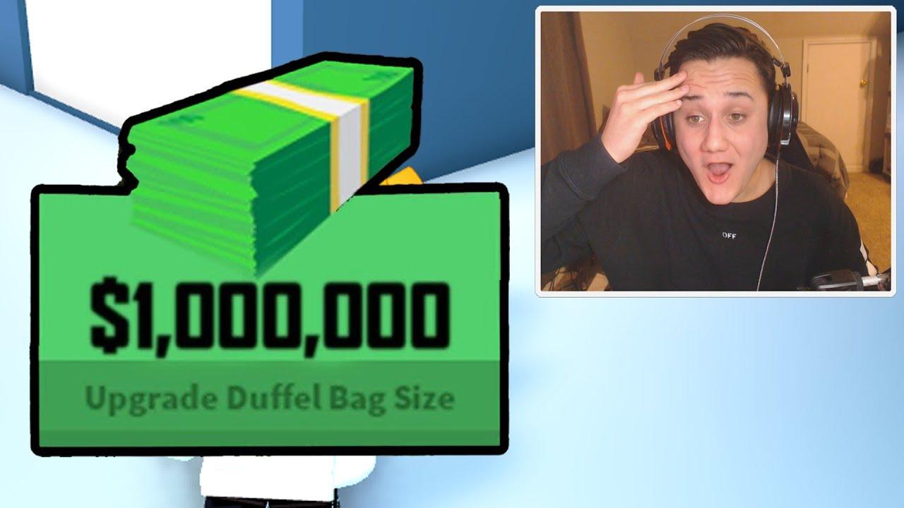 Unlimited Money Glitch In Jailbreak Roblox Youtube