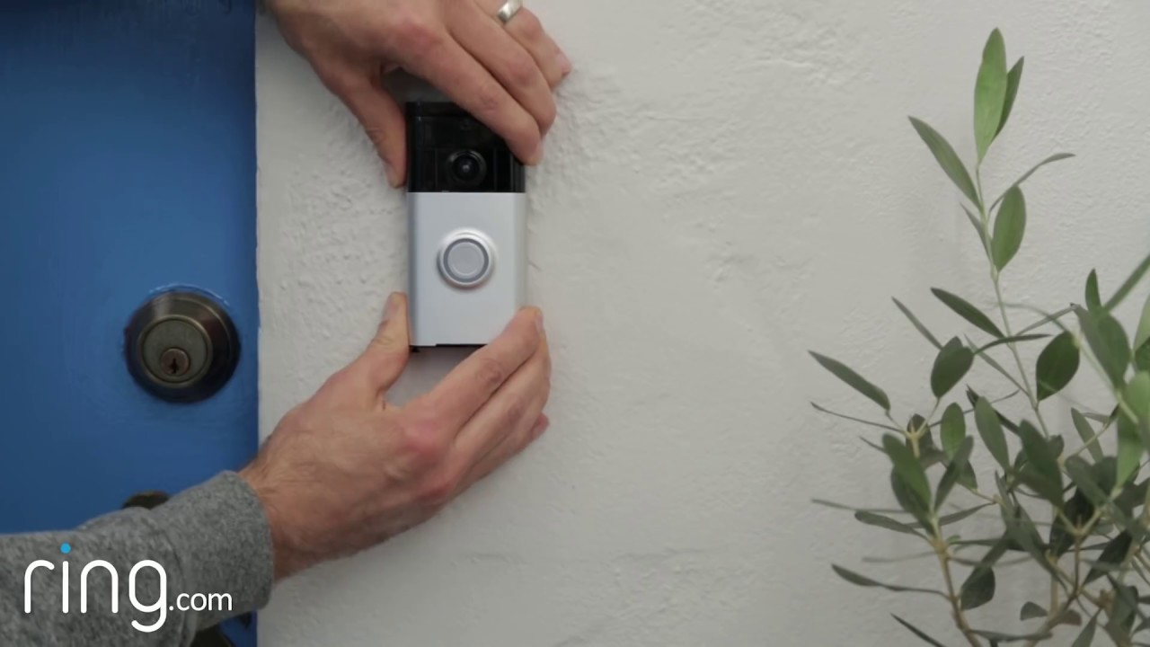 ring video doorbell installation when to use the diode