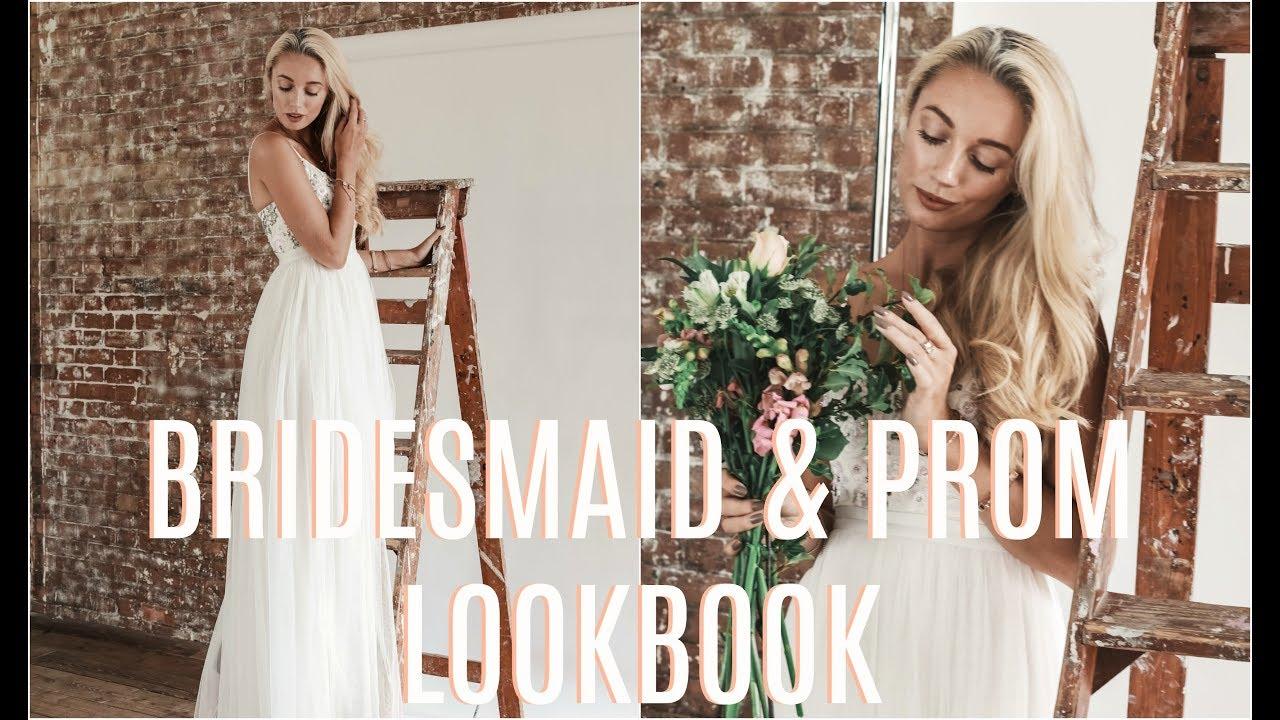 [VIDEO] – SUMMER OCCASIONWEAR DRESSES  // Bridesmaid + Prom Lookbook   //  Fashion Mumblr
