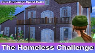 Homeless Challenge Instructions // Girls Orphanage Speed Build