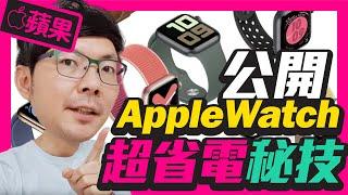 必學!Apple Watch超省電6招祕技 l Apple Watch S5 S4 S3都適用[蘋果]
