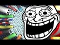 Slither.io TROLL HACK Skin - ULTIMATE SLITHER.IO MODS New Skins! Funny Moments Troll Skin!