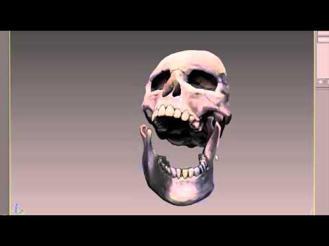 "SkullModeled for ""Nightmares Unhinged"" promo. Progress Video"